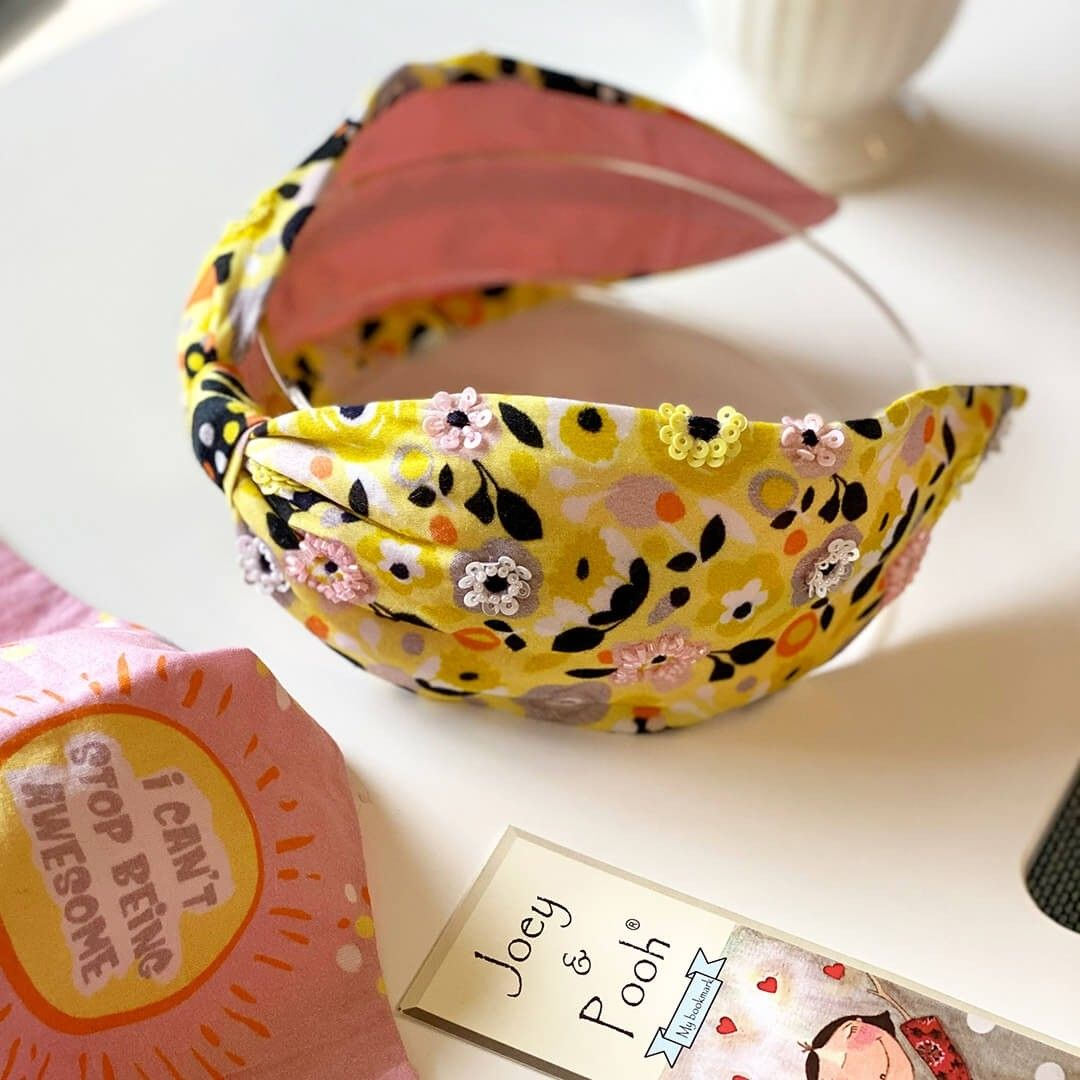 Abbie Headband-Yellow