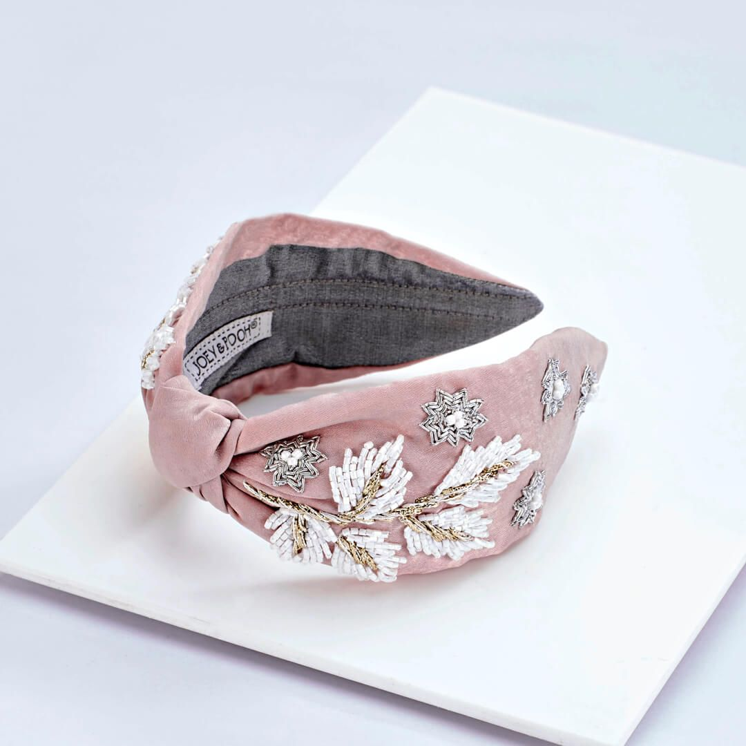 Claire Headband-Pink