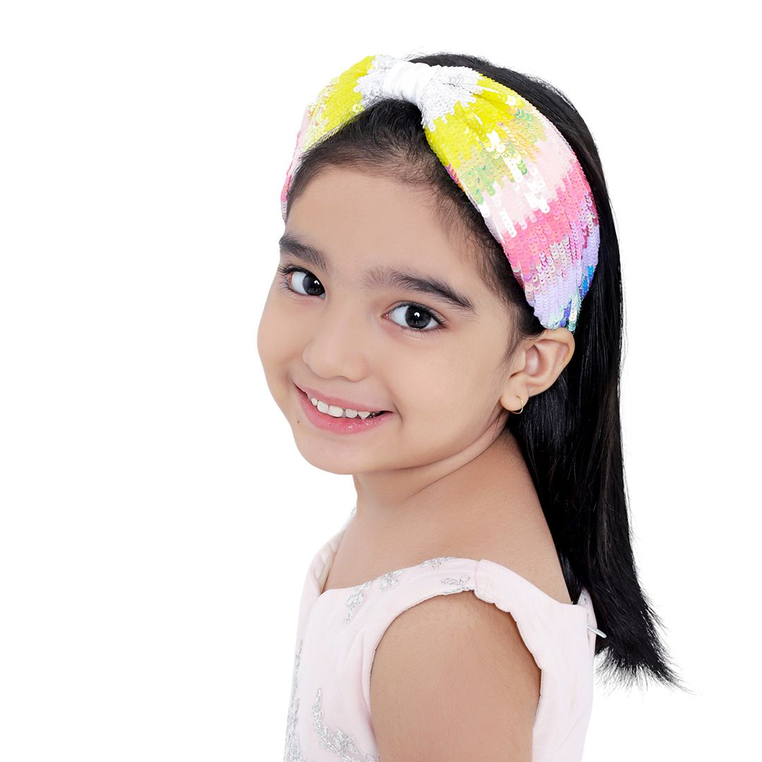 SERENA UNICORN HEADBAND on kids