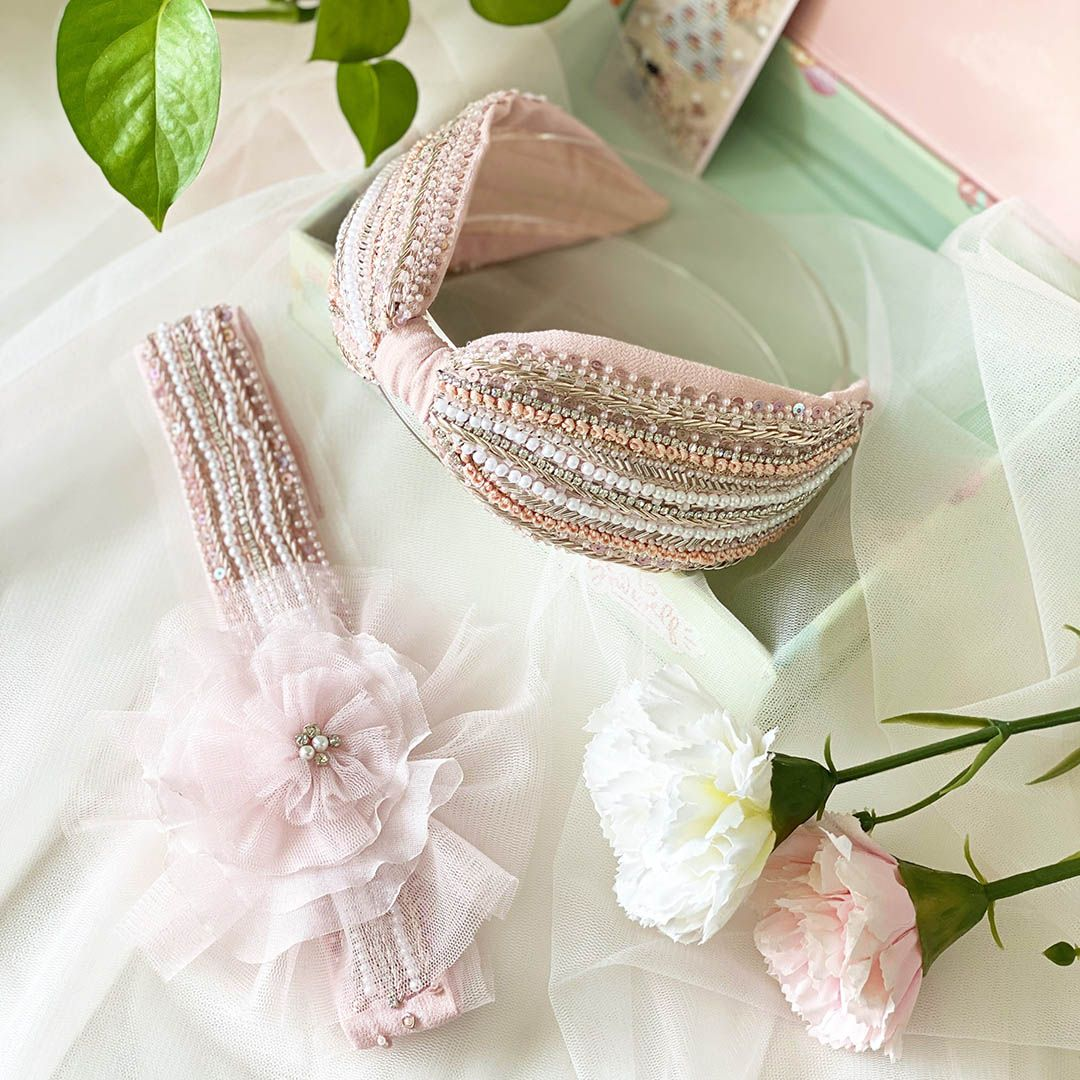 Pack of Taylor Pink headbands